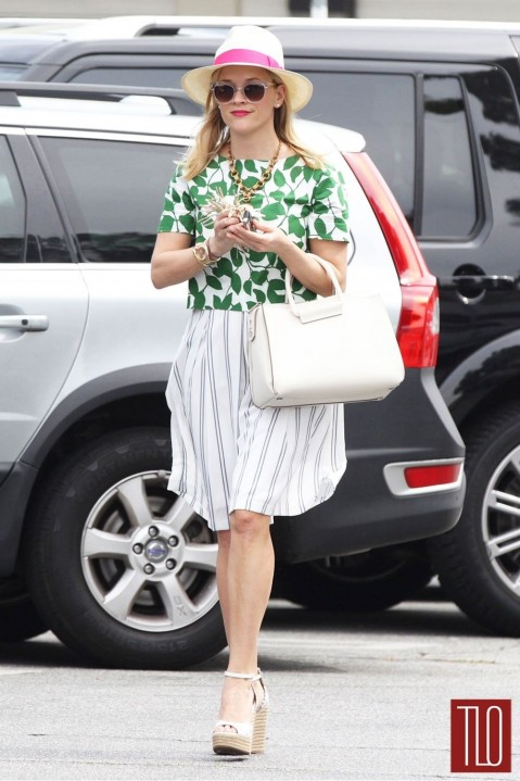 Reese Witherspoon Kate Spade New York Gotsla Street Style Tom Lorenzo Site Tlo
