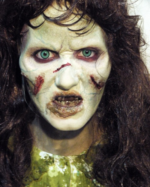 Exorcist Regan Halloween Costume Make Up Exorcist