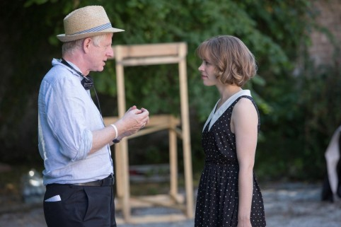 Richard Curtis And Rachel Mcadams In About Time Large Picture