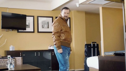 Poster Ricky Gervais Is Out Of Office In The First Trailer For David Brent Ricky Gervais