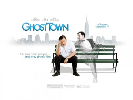 Ricky Gervais In Ghost Town Wallpaper Movies