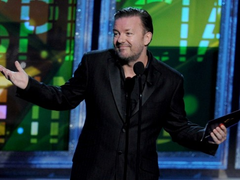 Ricky Gervais On His Office Paycheck Its The Gift That Keeps On Giving Syndication Ricky Gervais