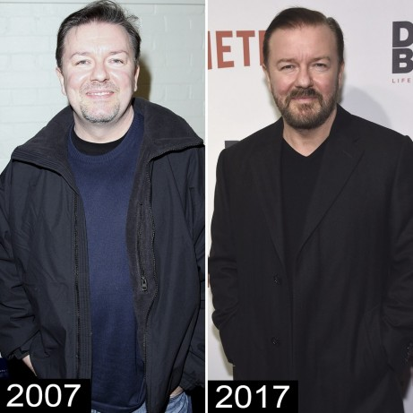 Ricky Gervais Weight Loss Ricky Gervais