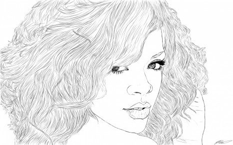 Rihanna Coloring Pages Rihanna Songs Rihanna Album Rihanna Video Hot Rihanna Rihanna Mp Hot