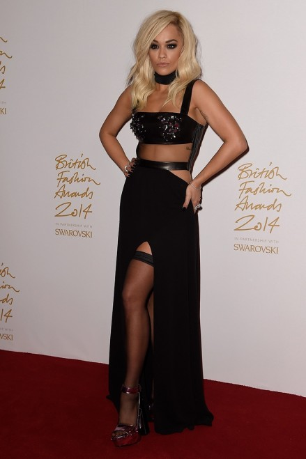 Fd Efa Elle Rita Ora British Fashion Awards Rita Ora