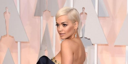 Lan Ape Showbiz Rita Ora Oscars Sheer Dress Rita Ora