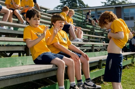 Picture Of Grayson Russell Zachary Gordon And Robert Capron In Diary Of Wimpy Kid Large Picture