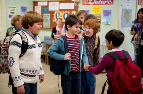 Picture Of Grayson Russell Zachary Gordon Robert Capron And Karan Brar In Diary Of Wimpy Kid Rodrick Rules Large Picture