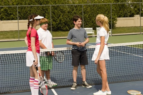 Picture Of Zachary Gordon And Robert Capron In Diary Of Wimpy Kid Dog Days Large Picture