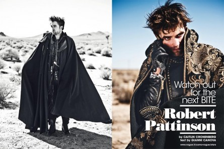 Ultimate Graveyard Vogue Italia Robert Pattinson Fashion