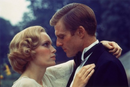 Picture Of Robert Redford And Mia Farrow In The Great Gatsby Large Picture Great Gatsby