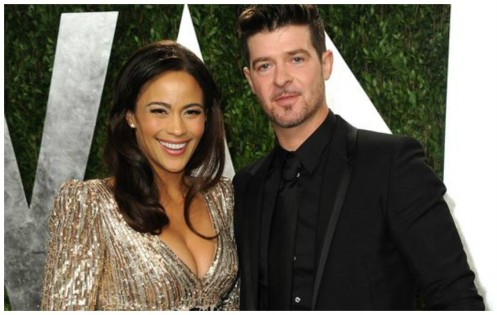 Paula Patton Discusses Divorce From Singer Robin Thicke Robin Thicke