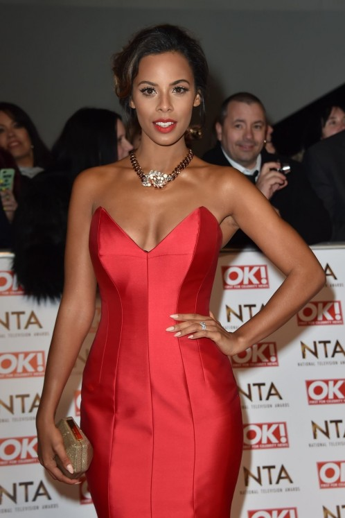 Rochelle Humes National Television Awards In London Rochelle Humes