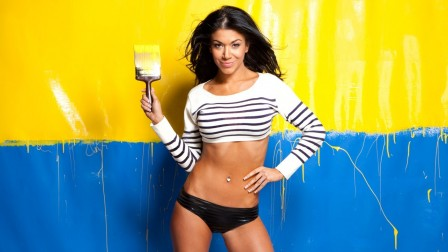 Rosa Mendes Wwe Wallpaper