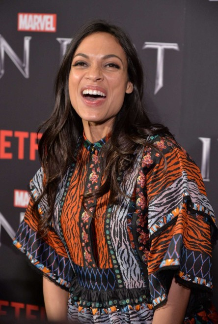 Rosario Dawson At Iron Fist Tv Series Premiere In New York Rosario Dawson