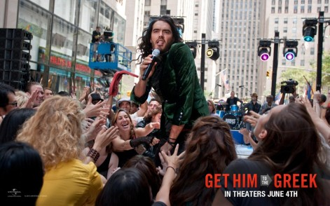 Russell Brand In Get Him To The Greek Wallpaper Russell Brand