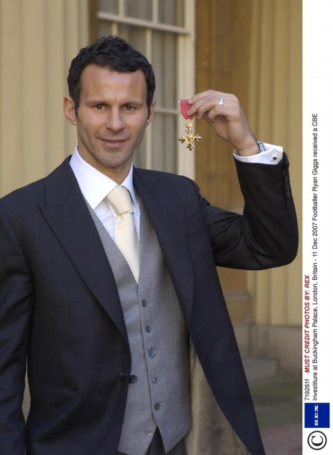Gallery Showbiz Ryan Giggs Cbe Ryan Giggs