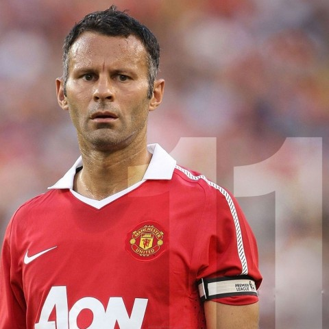 Premier League Manchester United Team Players Ryan Giggs