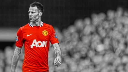 Ryan Giggs Manchester United Men Selective Coloring Ryan Giggs