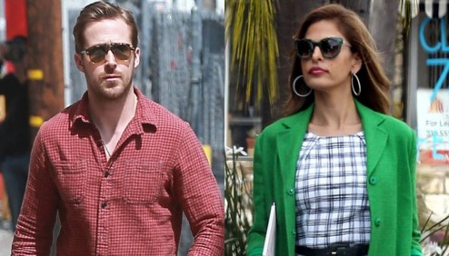 Ryan Gosling And Eva Mendes Ryan Gosling