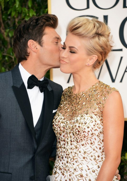 Ryan Seacrest And Julianne Hough Large Picture And Julianne Hough