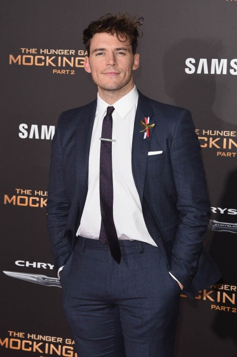 Sam Claflin Arrives At The Hunger Games Mockingjay Part La Premiere Sam Claflin