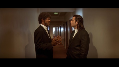 Movies Pulp Fiction Samuel Jackson John Travolta Samuel Jackson