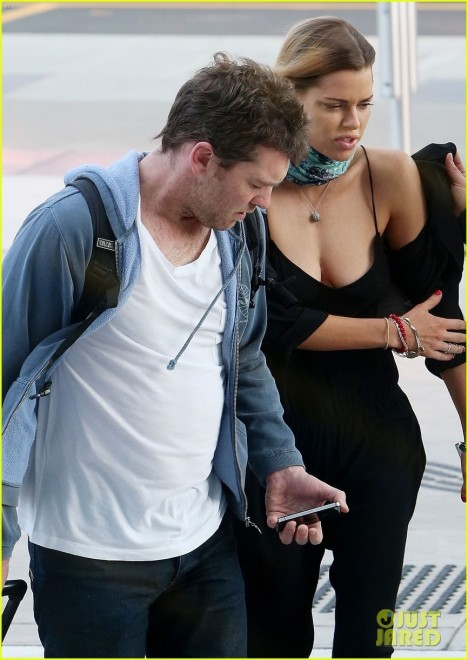 Sam Worthington Spotted With New Girlfriend Sophie Monk Da