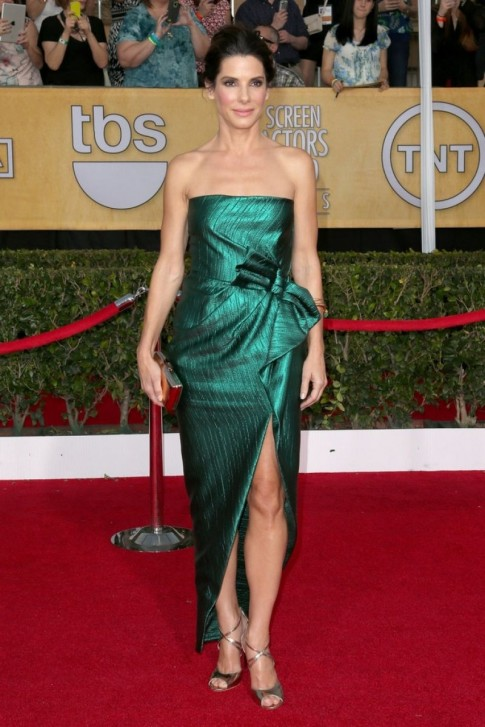 Sandra Bullock Sag Awards In Los Angeles Sandra Bullock
