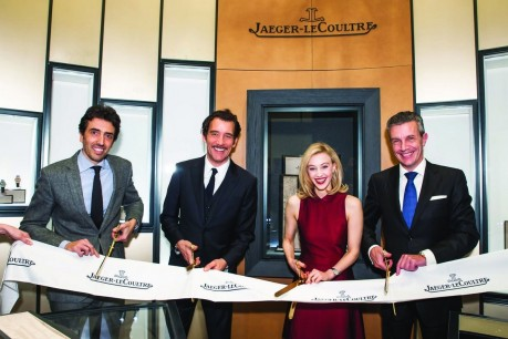 Jaeger Lecoultre Celebrates Its First New York Flagship With Guests Of Honor Sarah Gadon And Clive Owen Sarah Gadon