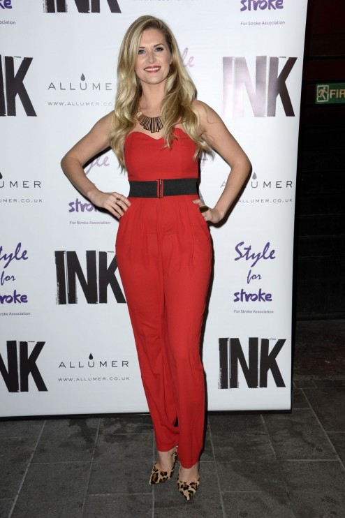 Sarah Jayne Dunn At Night With Nick Annual Fundraiser At Ink In London