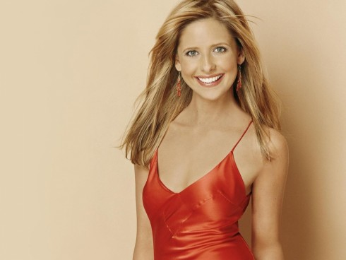 Sarah Michelle Gellar Red Dress Sarah Michelle Gellar