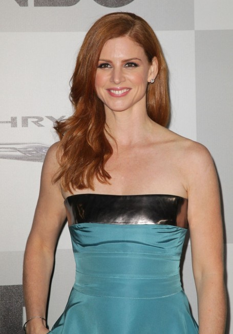 Sarah Rafferty At Nbc Universal St Annual Golden Globe Awards After Party