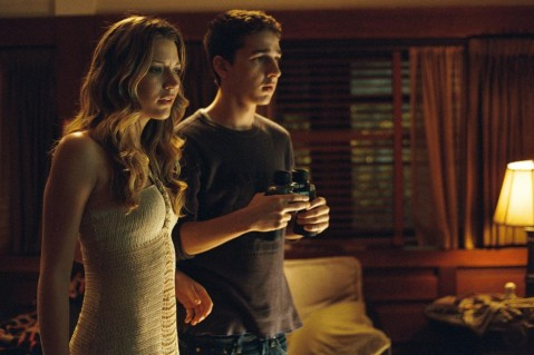 Shia Labeouf And Sarah Roemer In Disturbia Large Picture Sarah Roemer