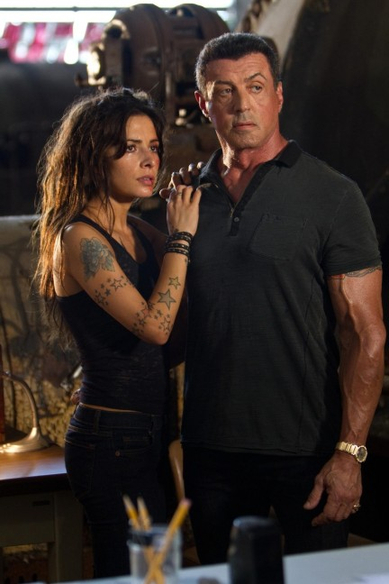 Still Of Sylvester Stallone And Sarah Shahi In Bullet To The Head Large Picture