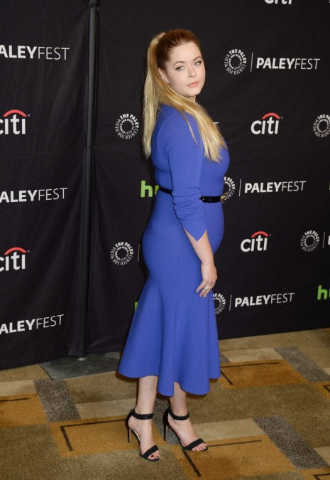Sasha Pieterse At The Pretty Little Liars Presentation During The Paleyfest La In Los Angeles Sasha Pieterse