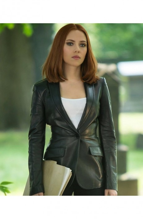 Scarlett Johansson Jacket Black Widow Movie