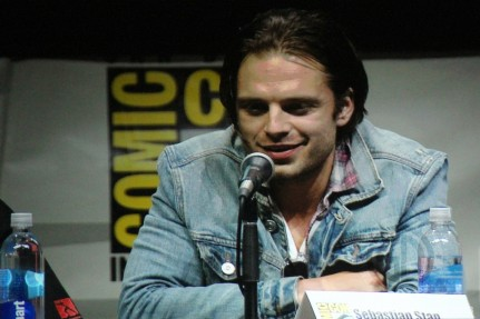 Sdcc Captain America The Winter Soldier Sebastian Stan Sebastian Stan