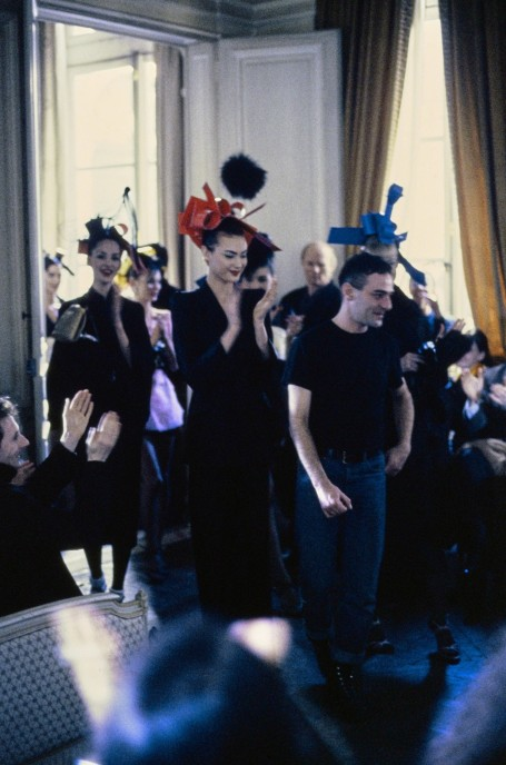 John Galliano Fall Rtw Shalom Harlow John Galliano Shalom Harlow