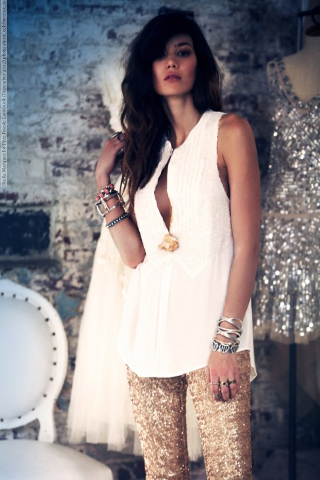 Sheila Marquez For Free People Lookbook December Photo Shoot
