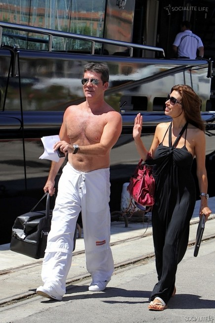 Simon Cowell Shirtless Hair Chest Simon Cowell