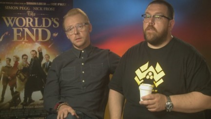 Simon Pegg And Nick Frost Talk New Movie The Worlds End The World End