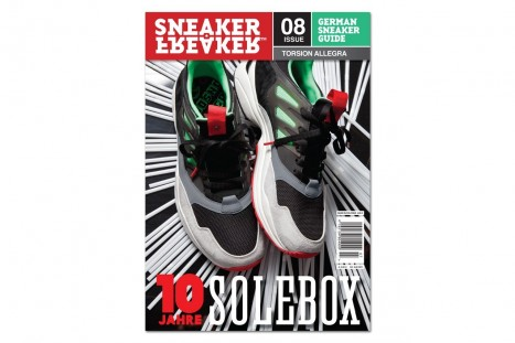 Adidas Torsion Allegra Preview On Cover Of Sneaker Freaker Germany Issue