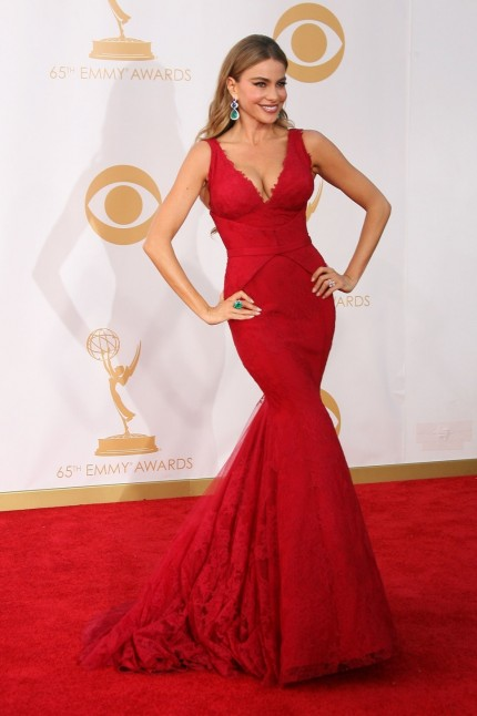Best Dressed Celebrities Emmy Dress Split