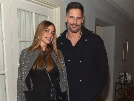 Gty Sofia Vergara Joe Manganiello Ml Mn Joe Manganiello