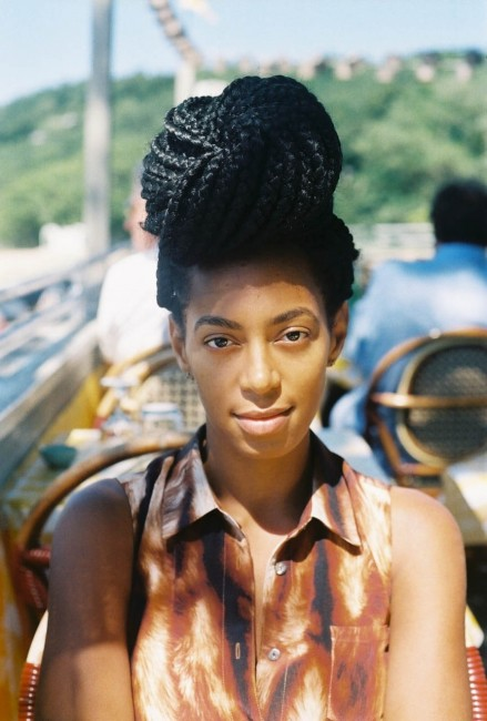 Solange Knowles Lucky Blog