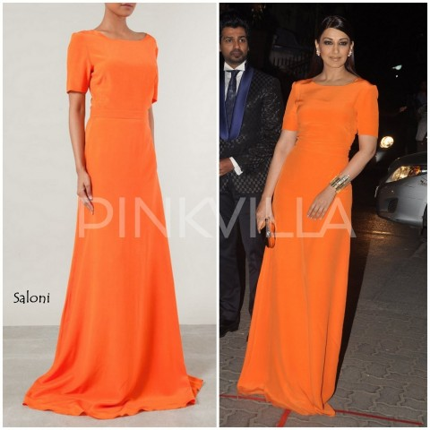 Sonali Bendre In Saloni At Filmfare Awards Sonali Bendre
