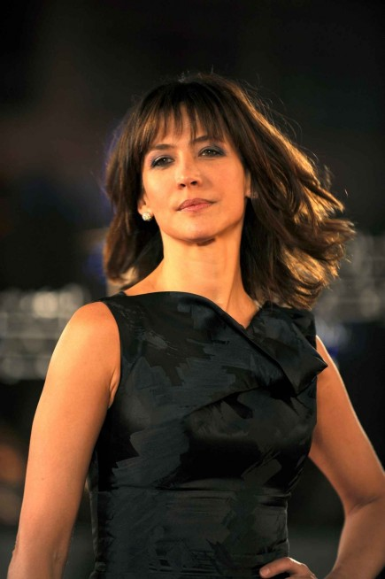 French Actress Sophie Marceau Poses Diaporama Sophie Marceau
