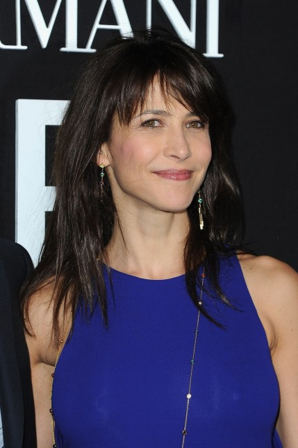Sophie Marceau Giorgio Armani Prive Show In Paris January Sophie Marceau