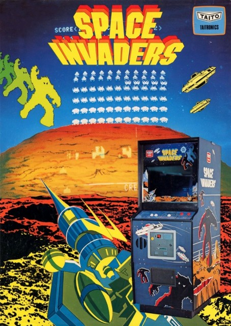 Space Invaders Ac Flyer